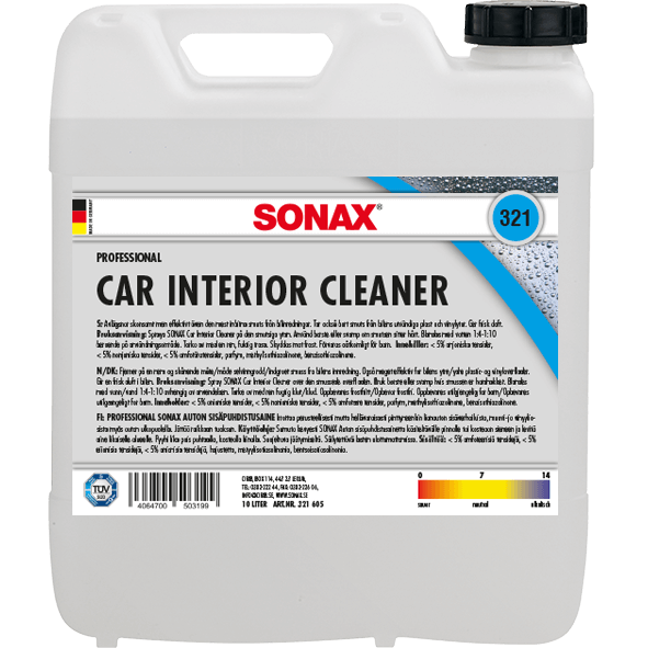SONAX Car Interior Cleaner, 10 L