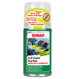 SONAX Car AC Cleaner – Green Lemon