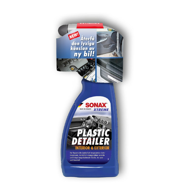 SONAX XTREME PLASTIC DETAILER