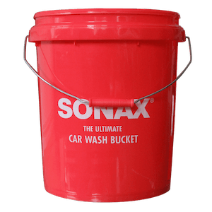 SONAX CarWash Bucket 19L & SONAX Car Wash Grit Guard