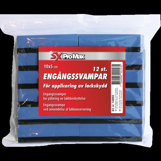 SXProMax 12st svampar för lackskydd, 10x5cm
