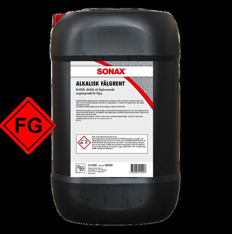 SONAX Alkalisk Fälgrent, 25L