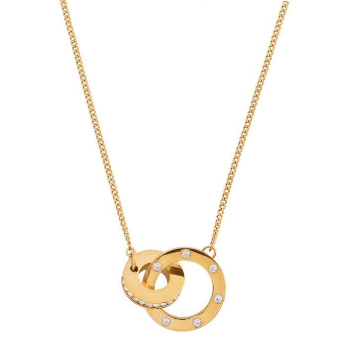 Halsband Ida gold long