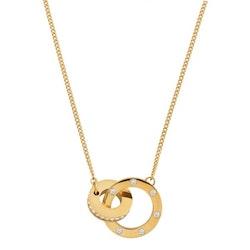 Halsband Ida short gold