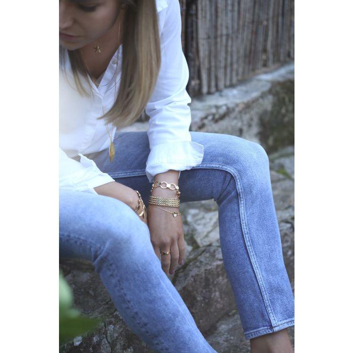 Armband gold 18cm
