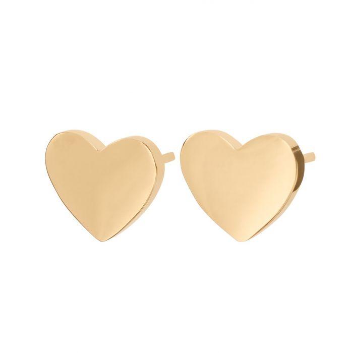 Örhänge Pure Heart gold