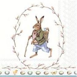"Påskservett "" Edward Rabbit"" Lunch"