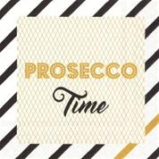"Servett ""Proseco time"" Storlek cocktail"