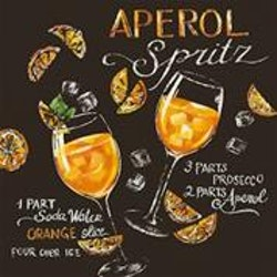"Servett "" Aperol"" cocktail"