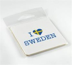 "Magnet ""I Love Sweden"""