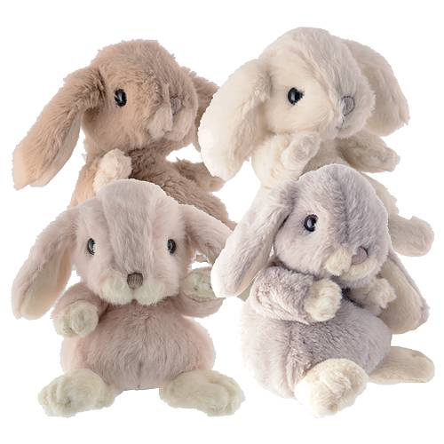 Bukowski kanin 15cm gråblå