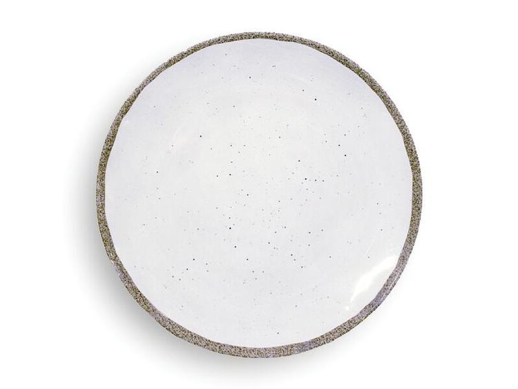 "Assiett ""Terra Bianco"" i melamin"