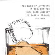 Good Wiskey... cocktailservett