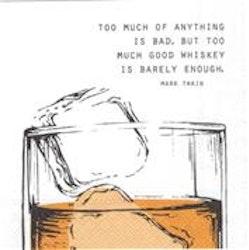 IHR Good Wiskey... cocktailservett