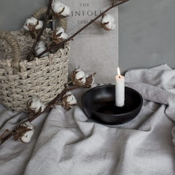 Ljusstake Lidatorp liten svart