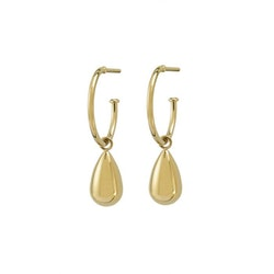 Drop earring mini gold