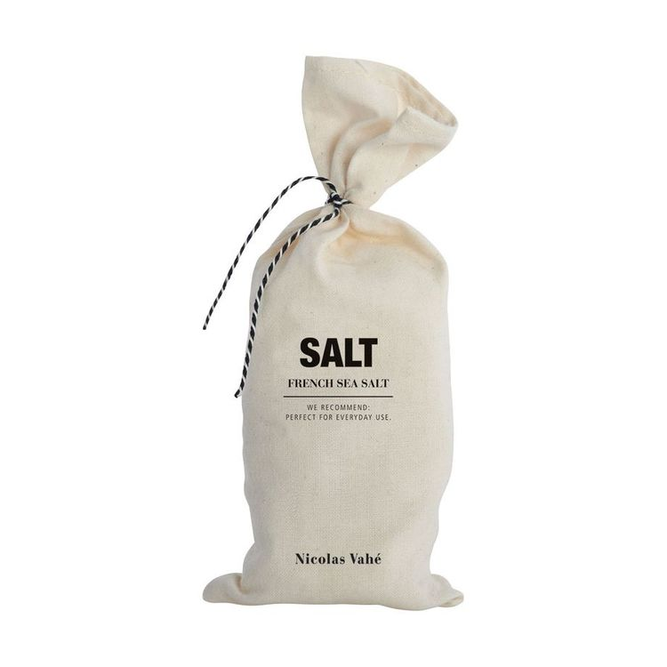 French sea salt Nicolas Vahè