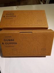 Ljusstake Gubbe & Gumma