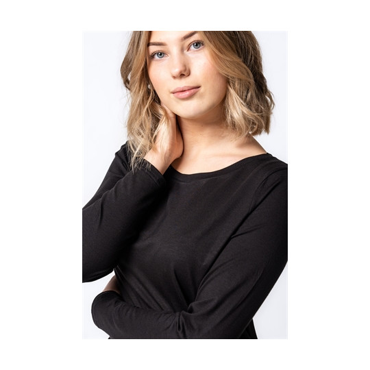 Top Emma Black Medium