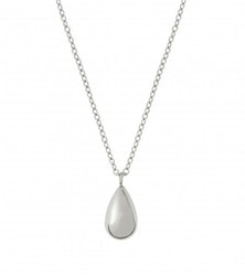 Drop Mini Necklace Steel