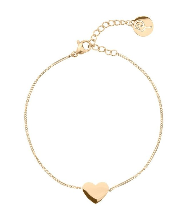 Armband Heart gold