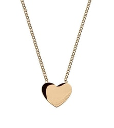 Halsband Heart guld