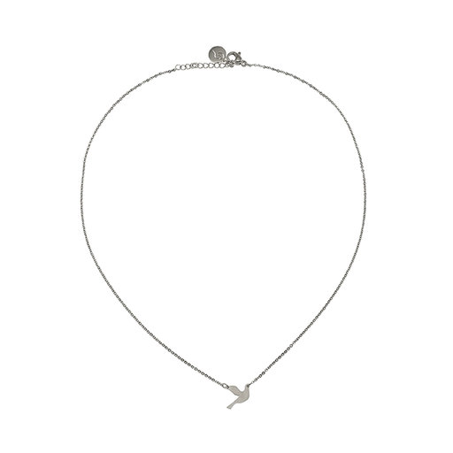 Dove necklace steel