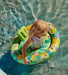 Sunnylife badring m. säte jungelgrön