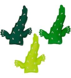 Krokodilfigurer med tyngd