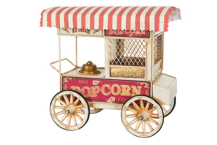 Popcorn bild med sparbössa