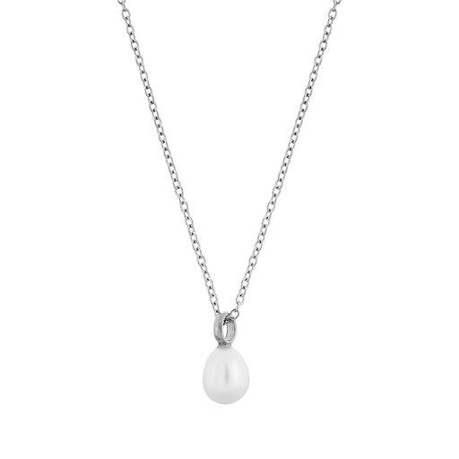 Perla  Edblad halsband stål