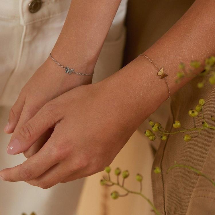 Papillion Edblad armband stål