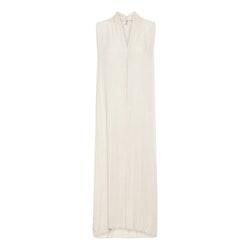 Viskosklänning Adele Stajl beige