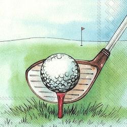 "IHR Servett "" I Love Golf"""