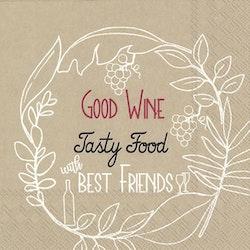 IHR servett Good wine...