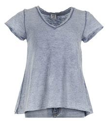 T-shirt Stajl Jeansblå