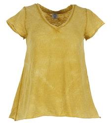 T-shirt Stajl senapsgul