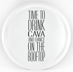 """Bricka """"Time to drink.."""" Mellow Design"""