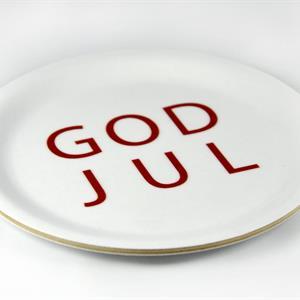 """Bricka """"God Jul"""""""