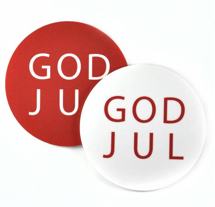 """Underlägg """"God Jul"""" Mellow Design"""