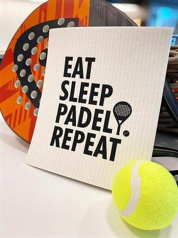 """Disktrasa """"Eat sleep padel repeat"""""""