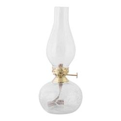 Strömshaga Fotogenlampa oval löv klar