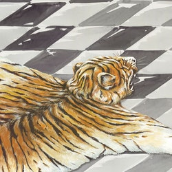 """IHR """"Grevinnas tiger"""" kaffe strl"""