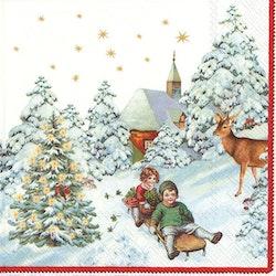 Servett Jul Villeroy & Boch