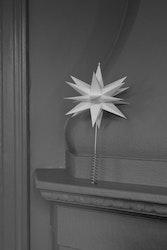 watt & VEKE toppstjärna Sputnik vit 25 cm