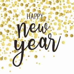 IHR servett Gott nytt år