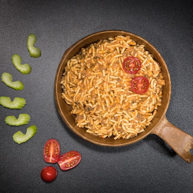 Spaghetti Bolognese med nötkött