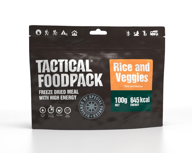 Grönsaker och ris