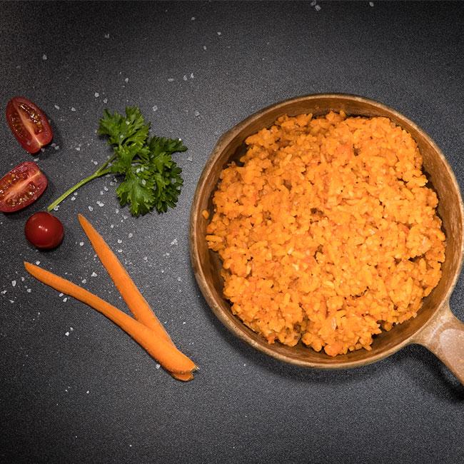 Ris med fläskkött - Pilaff