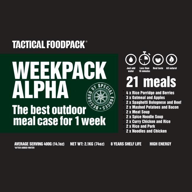 Week Pack Alpha